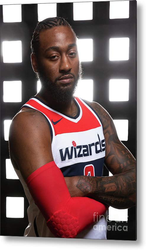 Media Day Metal Print featuring the photograph John Wall by Stephen Gosling