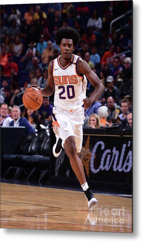Nba Pro Basketball Metal Print featuring the photograph Josh Jackson by Michael Gonzales