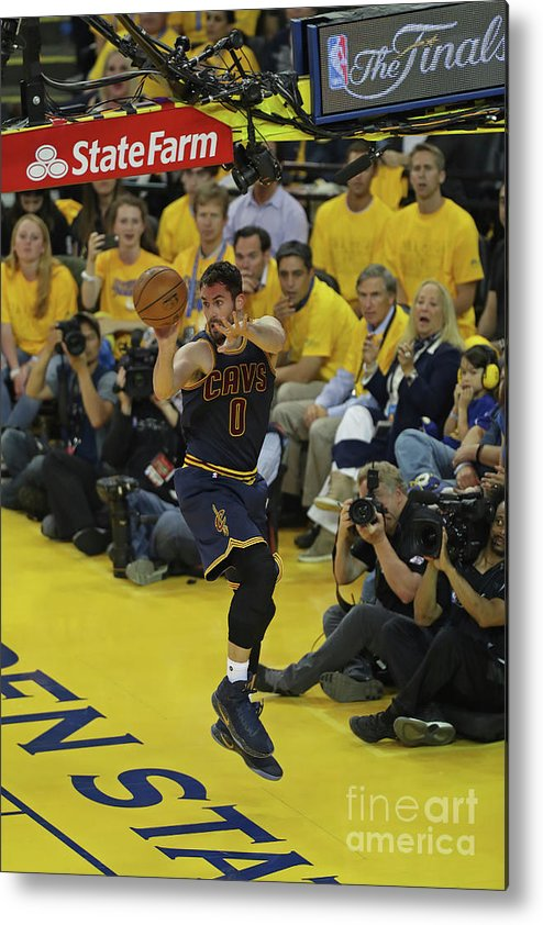 Playoffs Metal Print featuring the photograph Kevin Love by Joe Murphy