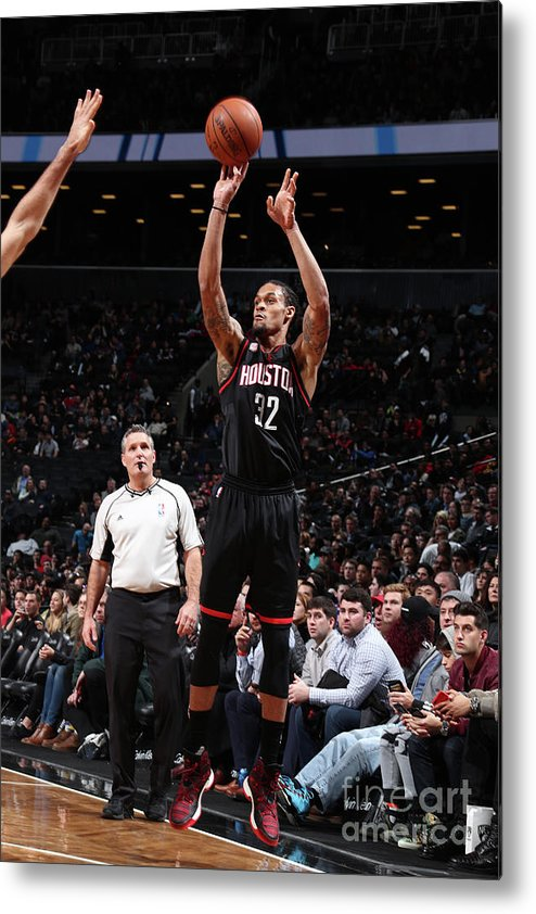 Nba Pro Basketball Metal Print featuring the photograph K.j. Mcdaniels by Nathaniel S. Butler