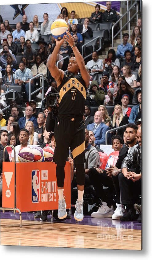 Event Metal Print featuring the photograph Kyle Lowry by Andrew D. Bernstein
