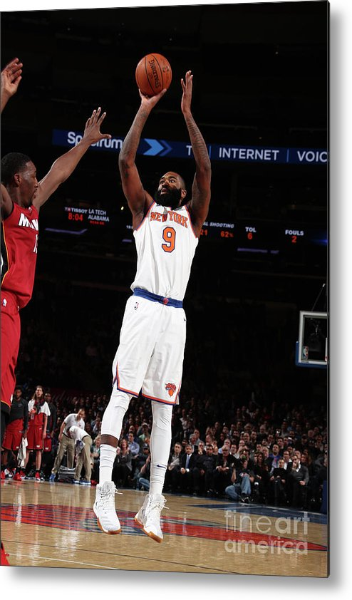 Nba Pro Basketball Metal Print featuring the photograph Kyle O'quinn by Nathaniel S. Butler