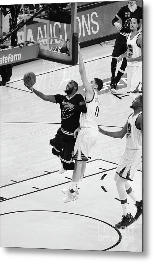 Playoffs Metal Print featuring the photograph Kyrie Irving by Andrew D. Bernstein