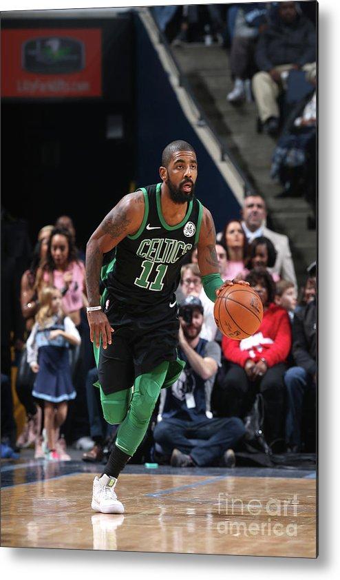 Nba Pro Basketball Metal Print featuring the photograph Kyrie Irving by Joe Murphy