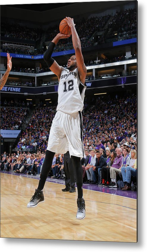 Nba Pro Basketball Metal Print featuring the photograph Lamarcus Aldridge by Rocky Widner