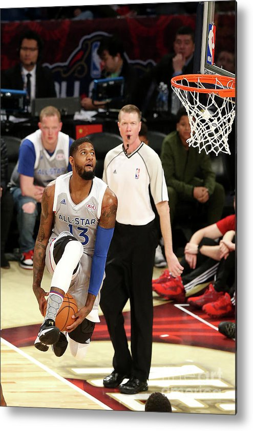 Event Metal Print featuring the photograph Paul George by Layne Murdoch