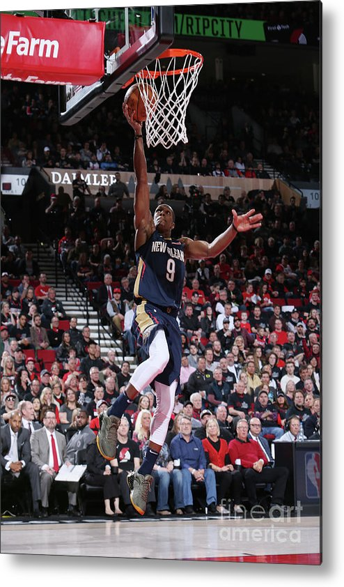 Playoffs Metal Print featuring the photograph Rajon Rondo by Sam Forencich
