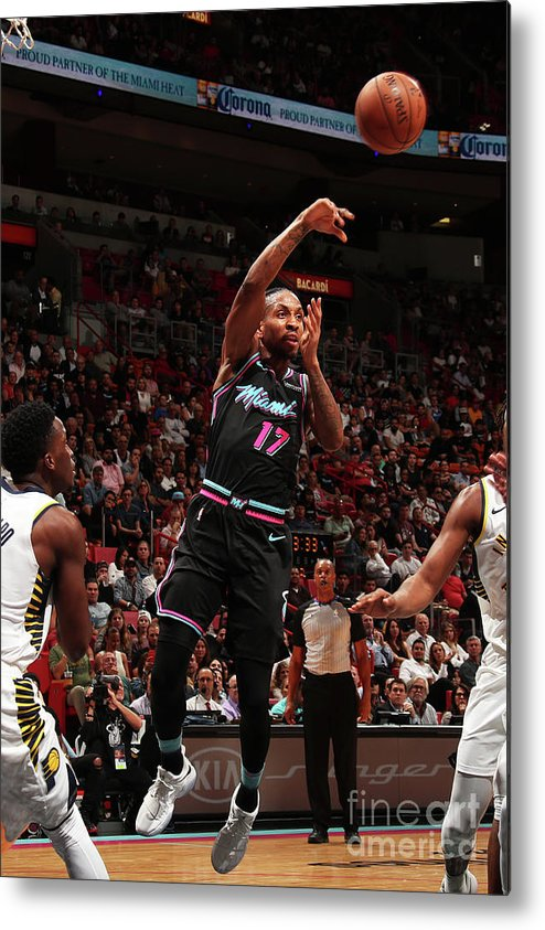 Nba Pro Basketball Metal Print featuring the photograph Rodney Mcgruder by Issac Baldizon