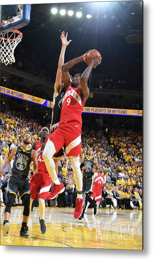 Playoffs Metal Print featuring the photograph Serge Ibaka by Andrew D. Bernstein