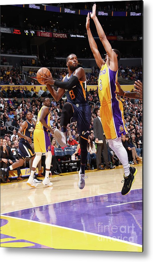 Nba Pro Basketball Metal Print featuring the photograph Shelvin Mack by Andrew D. Bernstein