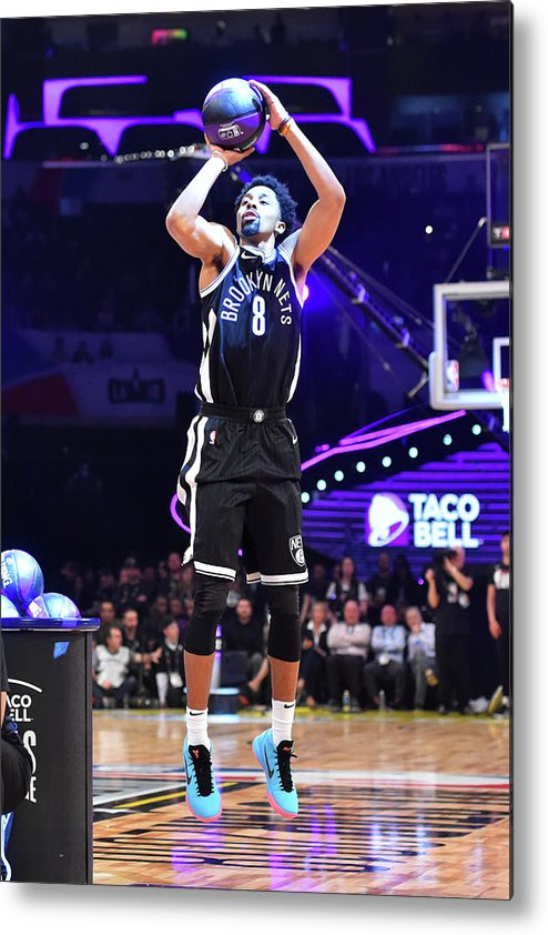 Event Metal Print featuring the photograph Spencer Dinwiddie by Jesse D. Garrabrant