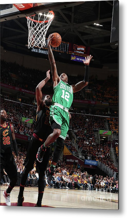 Playoffs Metal Print featuring the photograph Terry Rozier by Nathaniel S. Butler