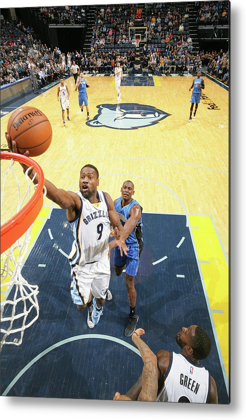 Nba Pro Basketball Metal Print featuring the photograph Tony Allen by Joe Murphy