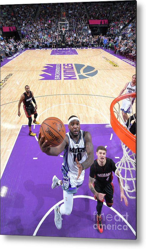 Nba Pro Basketball Metal Print featuring the photograph Ty Lawson by Rocky Widner