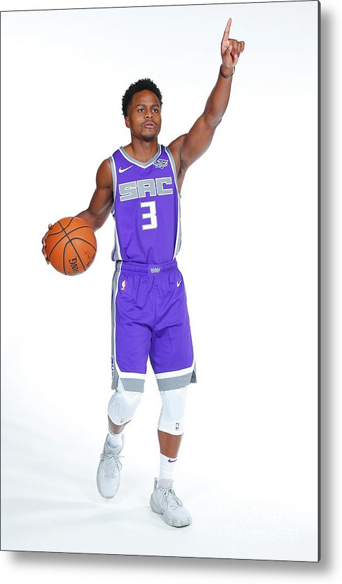 Media Day Metal Print featuring the photograph Yogi Ferrell by Rocky Widner