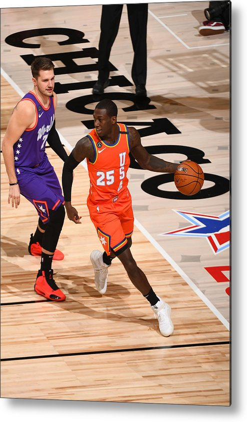 Nba Pro Basketball Metal Print featuring the photograph 2020 NBA All-Star - Rising Stars Game by Garrett Ellwood