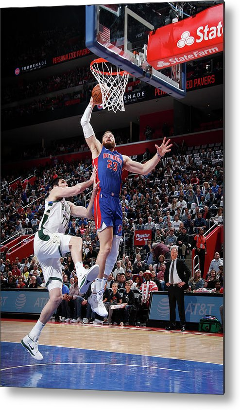 Playoffs Metal Print featuring the photograph Blake Griffin by Brian Sevald
