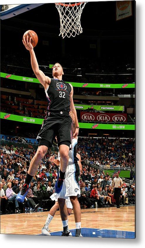 Nba Pro Basketball Metal Print featuring the photograph Blake Griffin by Fernando Medina