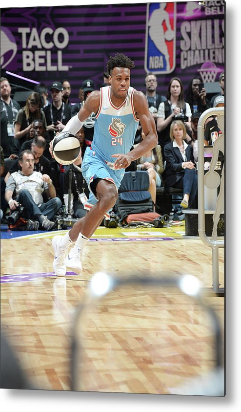 Event Metal Print featuring the photograph Buddy Hield by Andrew D. Bernstein
