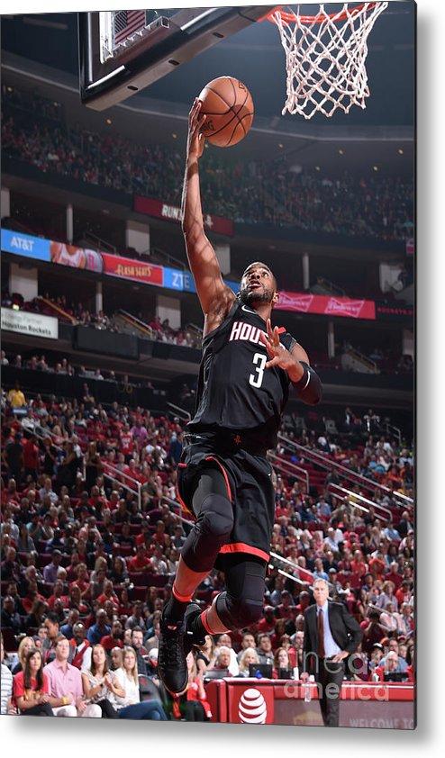 Nba Pro Basketball Metal Print featuring the photograph Chris Paul by Bill Baptist