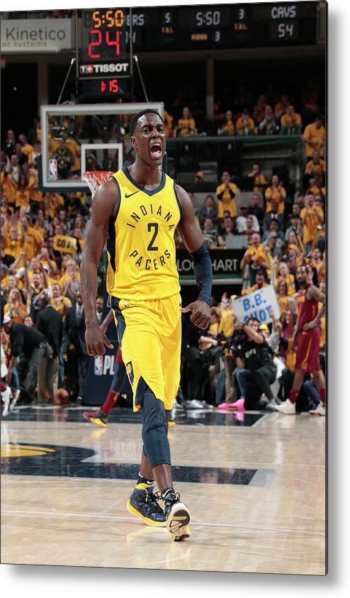 Playoffs Metal Print featuring the photograph Darren Collison by Ron Hoskins