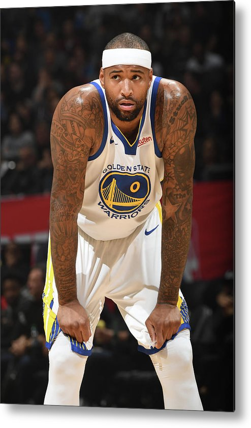 Nba Pro Basketball Metal Print featuring the photograph Demarcus Cousins by Andrew D. Bernstein