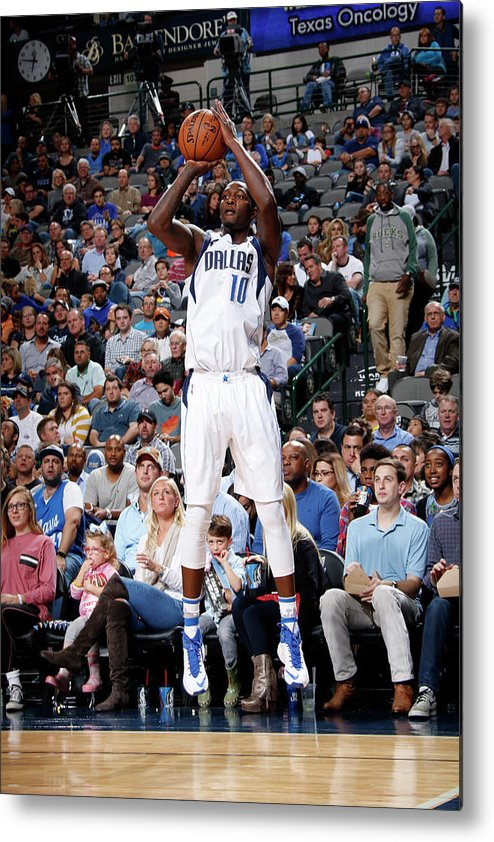 Nba Pro Basketball Metal Print featuring the photograph Dorian Finney-smith by Glenn James