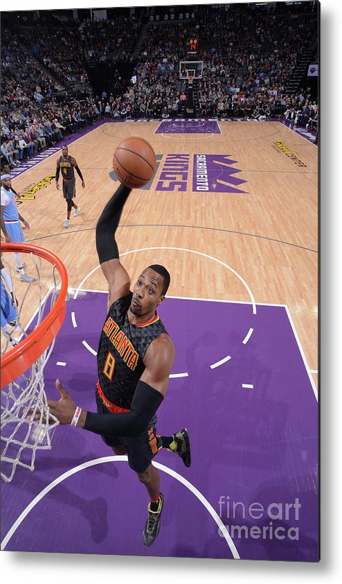 Nba Pro Basketball Metal Print featuring the photograph Dwight Howard by Rocky Widner