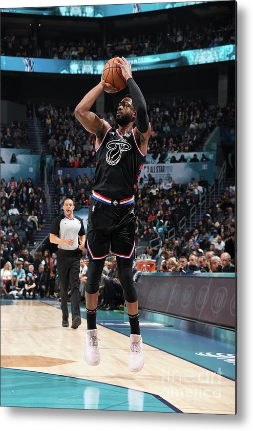 Nba Pro Basketball Metal Print featuring the photograph Dwyane Wade by Andrew D. Bernstein