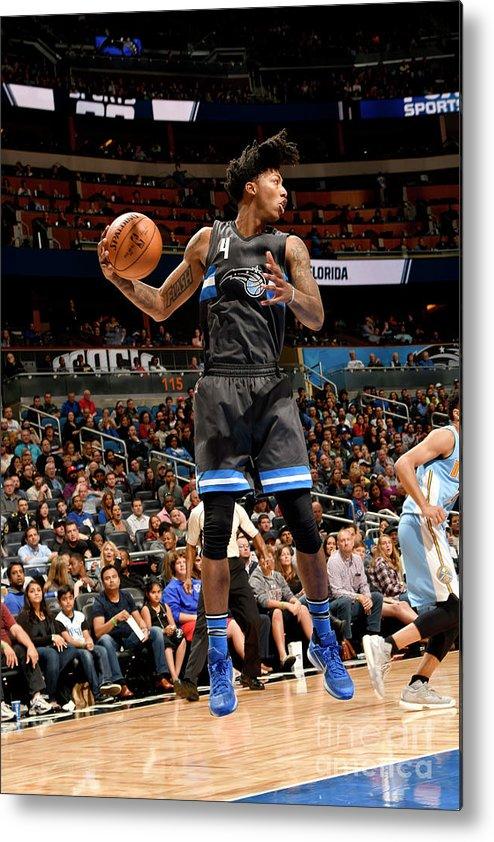 Nba Pro Basketball Metal Print featuring the photograph Elfrid Payton by Fernando Medina