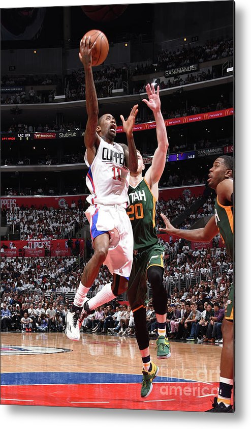 Playoffs Metal Print featuring the photograph Jamal Crawford by Andrew D. Bernstein