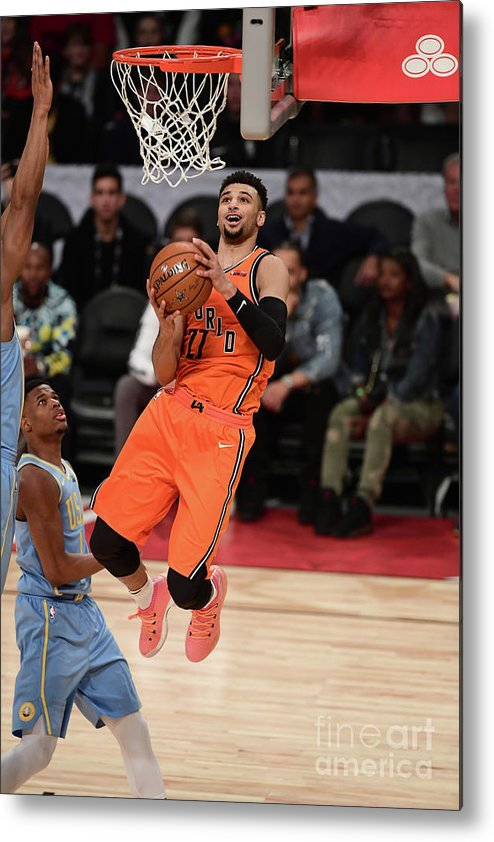 Event Metal Print featuring the photograph Jamal Murray by Garrett Ellwood