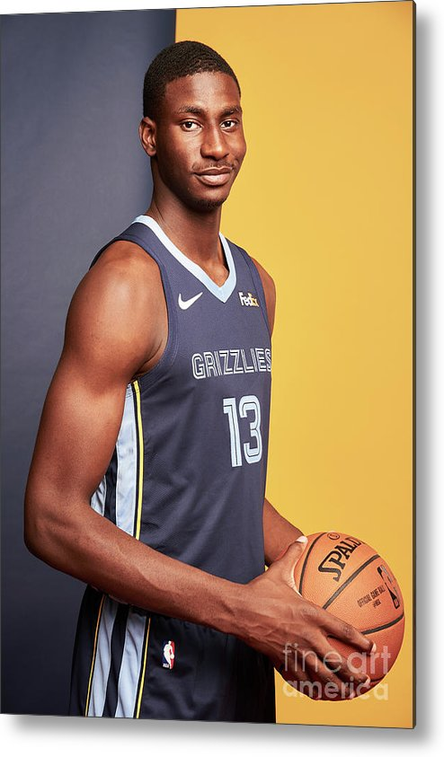 Nba Pro Basketball Metal Print featuring the photograph Jaren Jackson by Jennifer Pottheiser