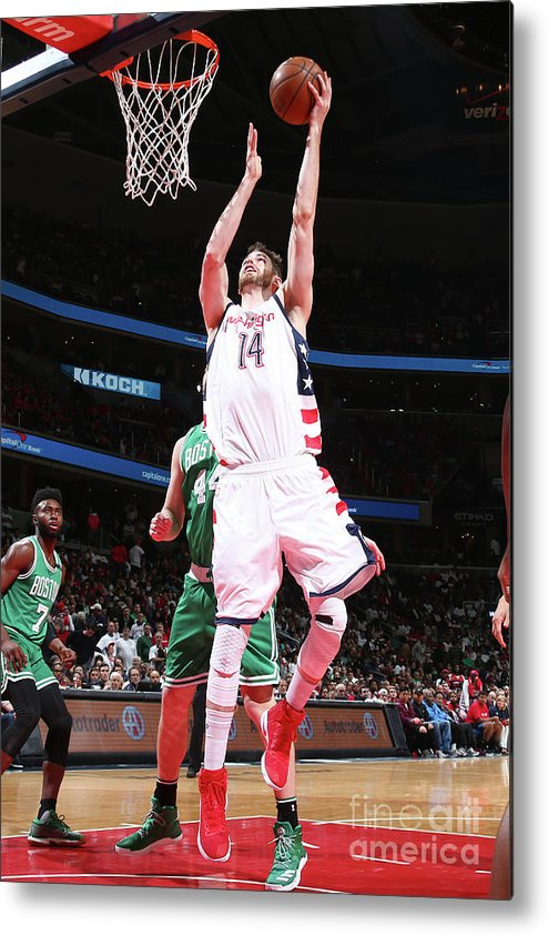 Playoffs Metal Print featuring the photograph Jason Smith by Ned Dishman