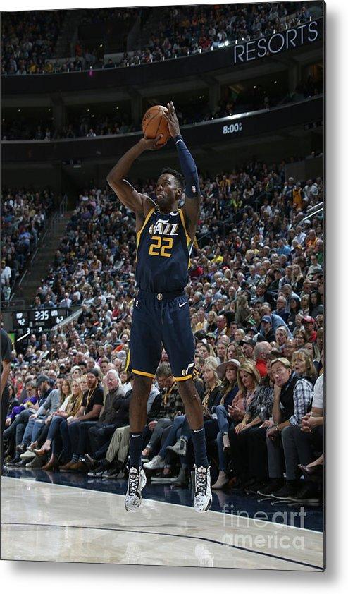 Nba Pro Basketball Metal Print featuring the photograph Jeff Green by Melissa Majchrzak