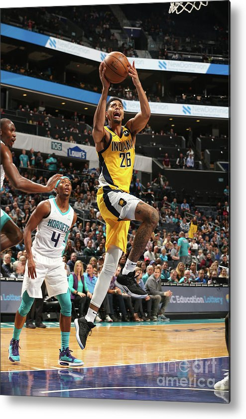 Nba Pro Basketball Metal Print featuring the photograph Jeremy Lamb by Kent Smith