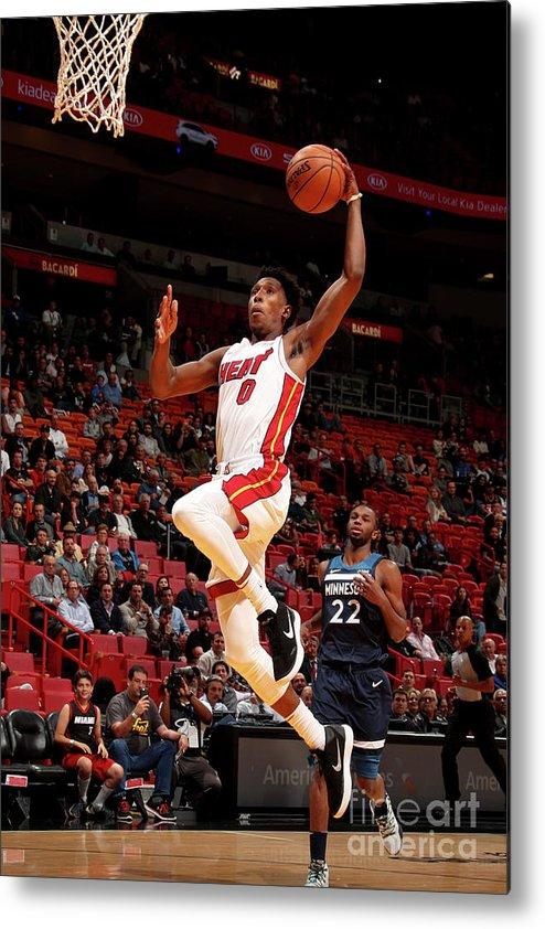 Nba Pro Basketball Metal Print featuring the photograph Josh Richardson by Issac Baldizon