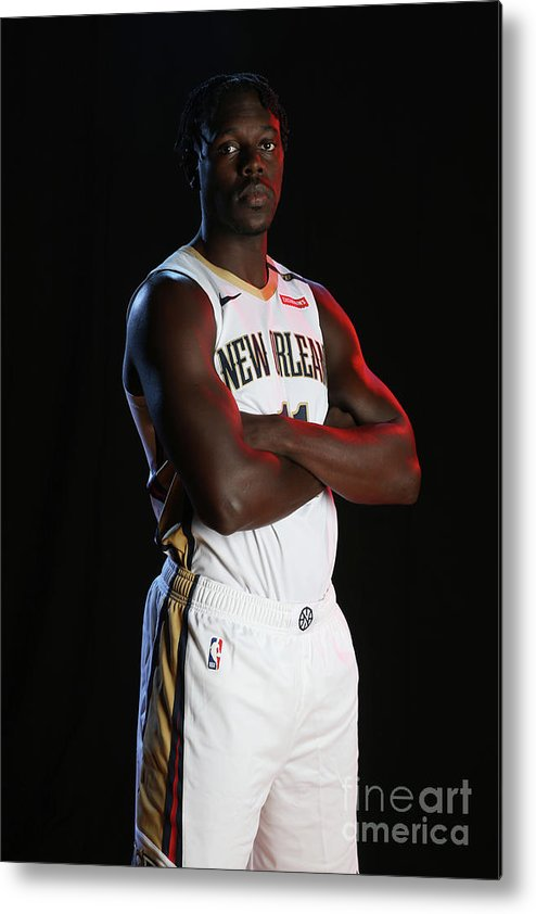 Media Day Metal Print featuring the photograph Jrue Holiday by Layne Murdoch Jr.