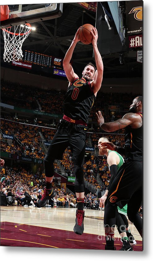 Playoffs Metal Print featuring the photograph Kevin Love by Nathaniel S. Butler