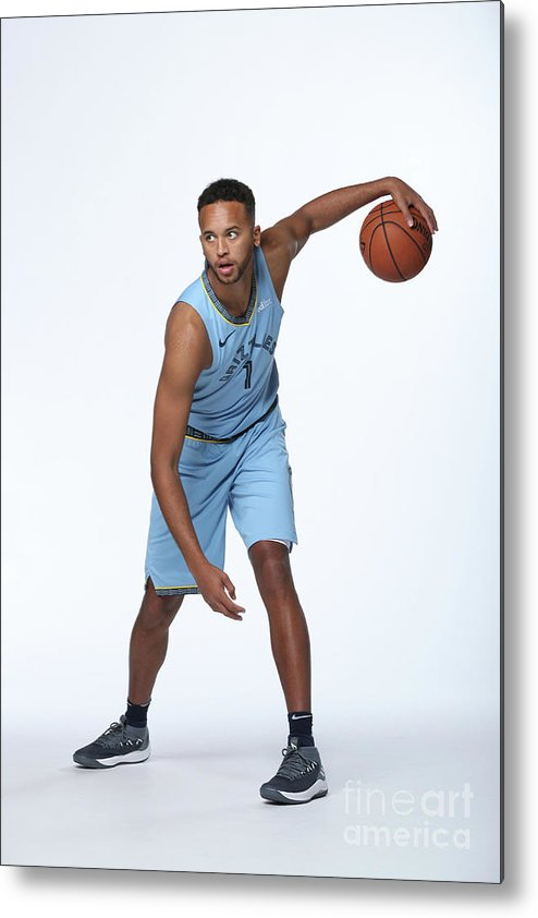 Media Day Metal Print featuring the photograph Kyle Anderson by Joe Murphy