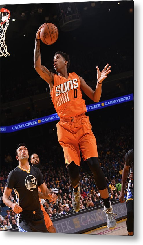 Nba Pro Basketball Metal Print featuring the photograph Marquese Chriss by Noah Graham