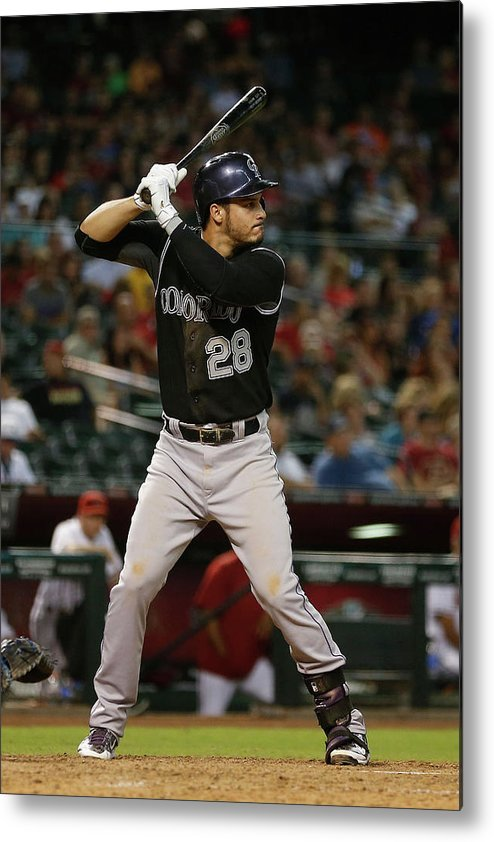 People Metal Print featuring the photograph Nolan Arenado by Christian Petersen