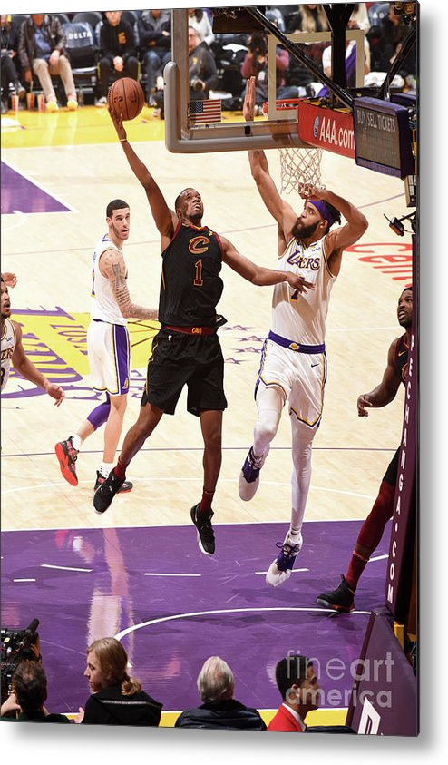 Nba Pro Basketball Metal Print featuring the photograph Rodney Hood by Andrew D. Bernstein