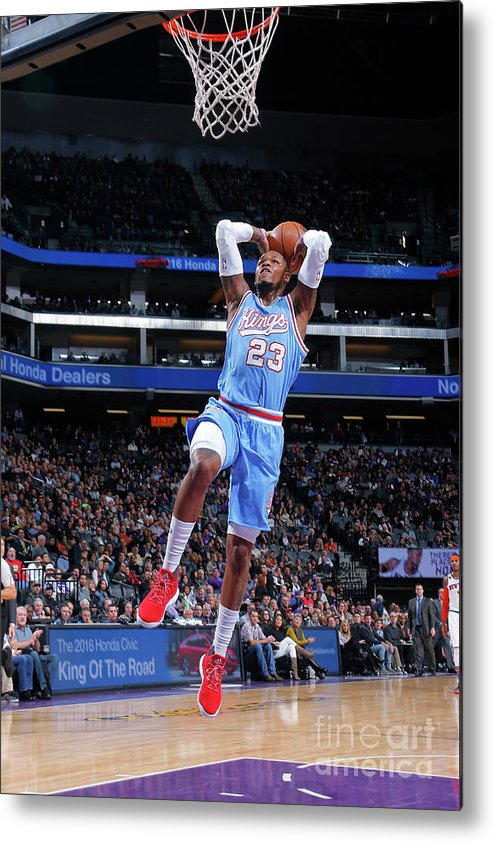 Nba Pro Basketball Metal Print featuring the photograph Ben Mclemore by Rocky Widner