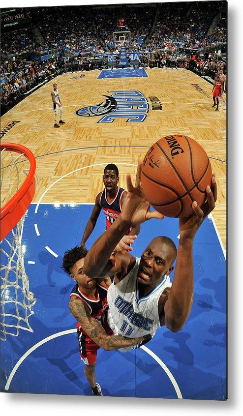Nba Pro Basketball Metal Print featuring the photograph Bismack Biyombo by Fernando Medina