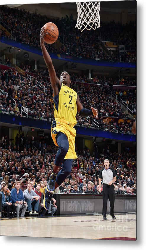 Playoffs Metal Print featuring the photograph Darren Collison by David Liam Kyle