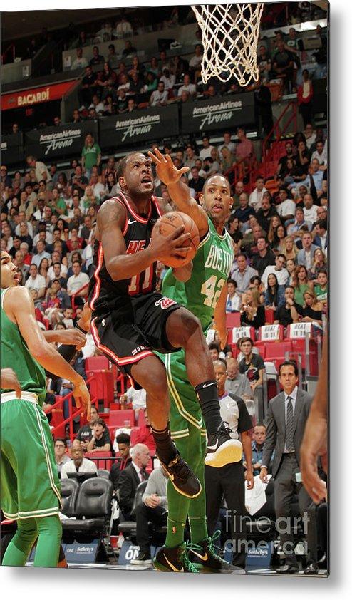 Nba Pro Basketball Metal Print featuring the photograph Dion Waiters by Oscar Baldizon