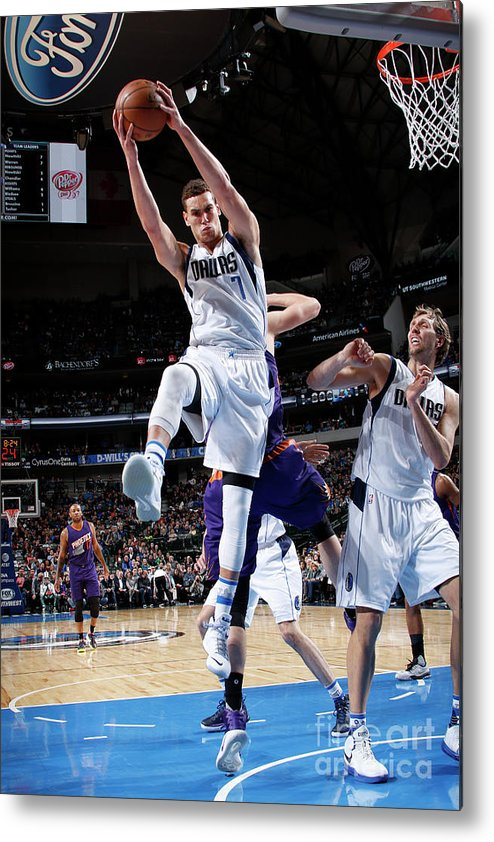 Dwight Powell Metal Print featuring the photograph Dwight Powell by Glenn James