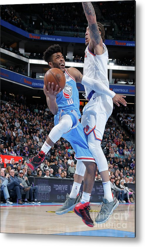 Nba Pro Basketball Metal Print featuring the photograph Frank Mason by Rocky Widner