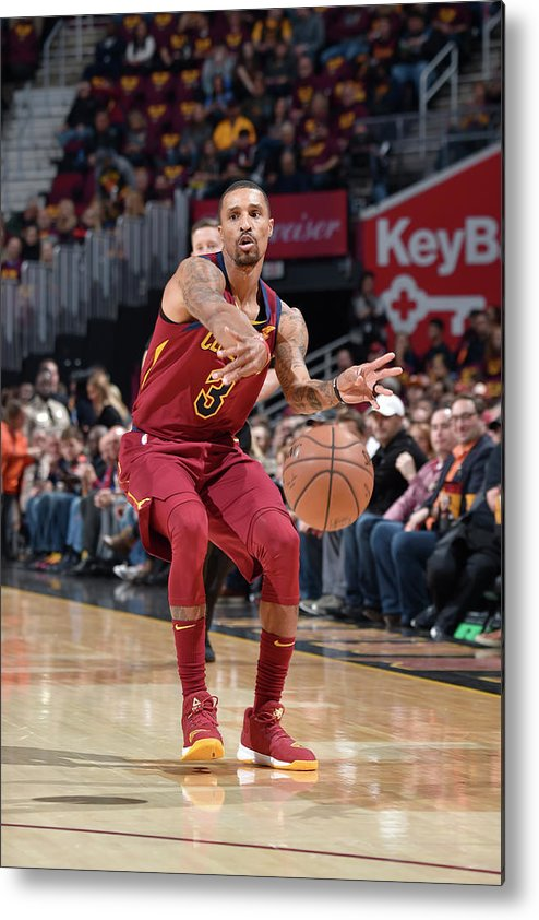 Nba Pro Basketball Metal Print featuring the photograph George Hill by David Liam Kyle